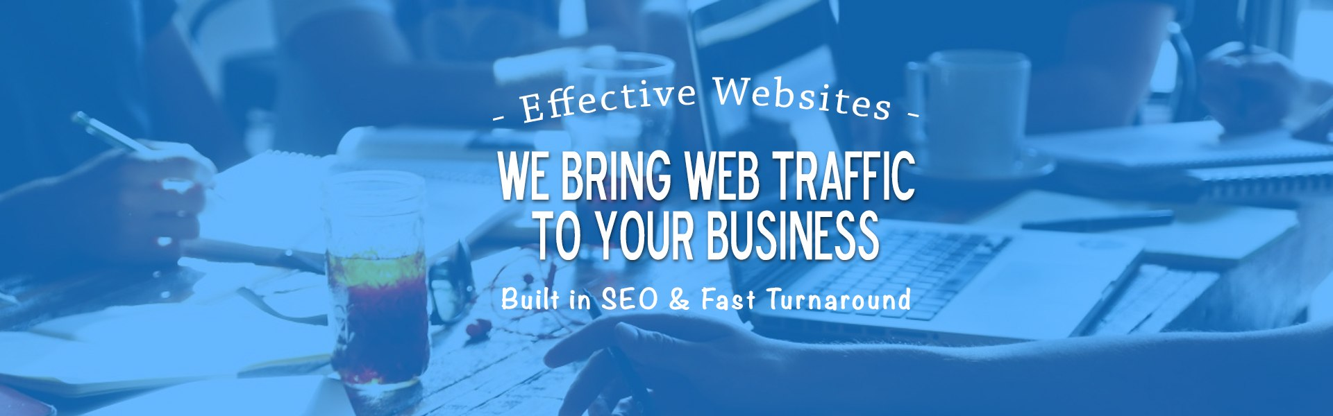we bring web traffic to your business website